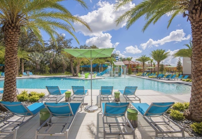 ACO PREMIUM - 8 Bd w/ private pool and Spa (1720), Kissimmee, Basen