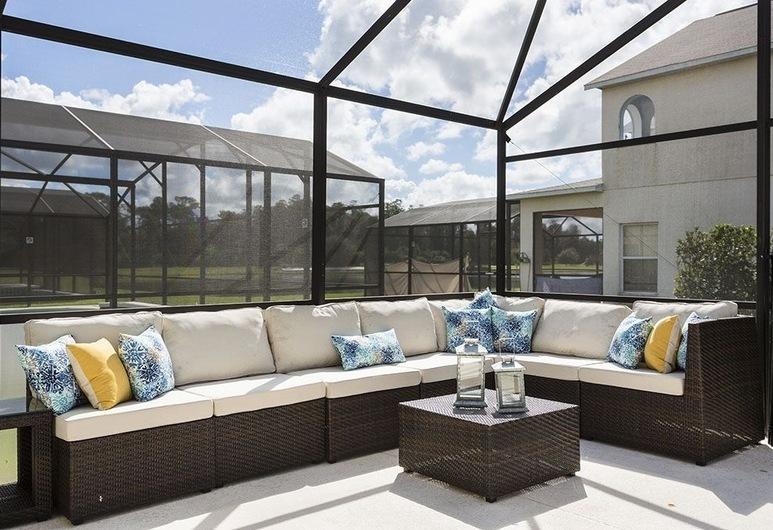 Fantasmic Villa, Kissimmee, Departamento, varias habitaciones, Terraza o patio