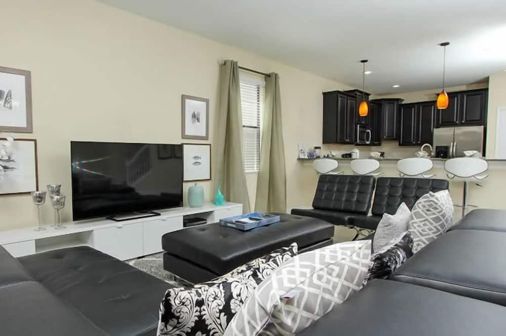 Apartment, Mehrere Schlafzimmer - Wohnbereich