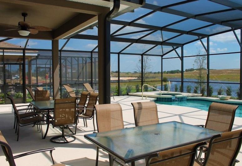 嶄新 6 床南面索特拉游泳池別墅飯店, 達文波特, 公寓, 多間臥室, 露台
