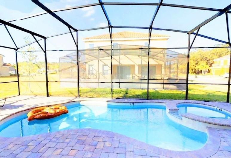 艾可頂級 - 9 房私人游泳池 Spa (1753) 飯店, 基西米, 公寓, 多間臥室, 露台