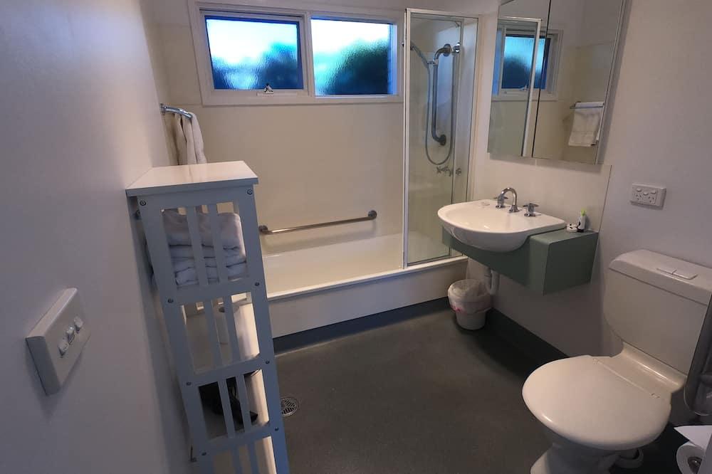 City-Apartment, 1King-Bett, Erdgeschoss - Badezimmer