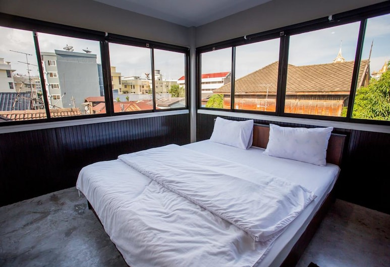 반 89 호스텔, 방콕, Double Room with Shared Bathroom and City View , 객실