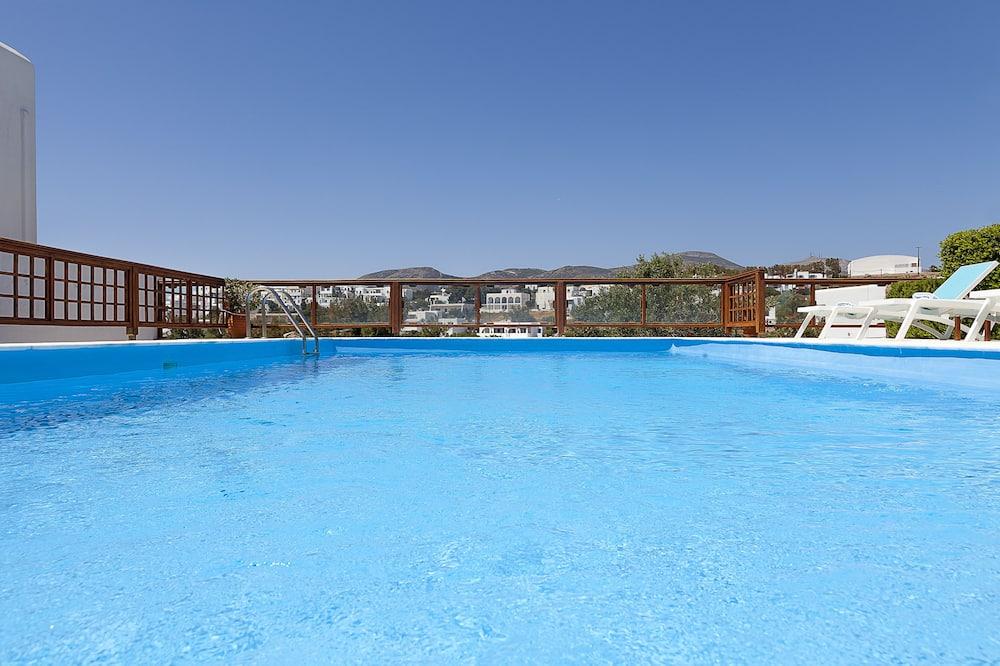 Apartmán, výhľad na bazén - Výhľad z hosťovskej izby