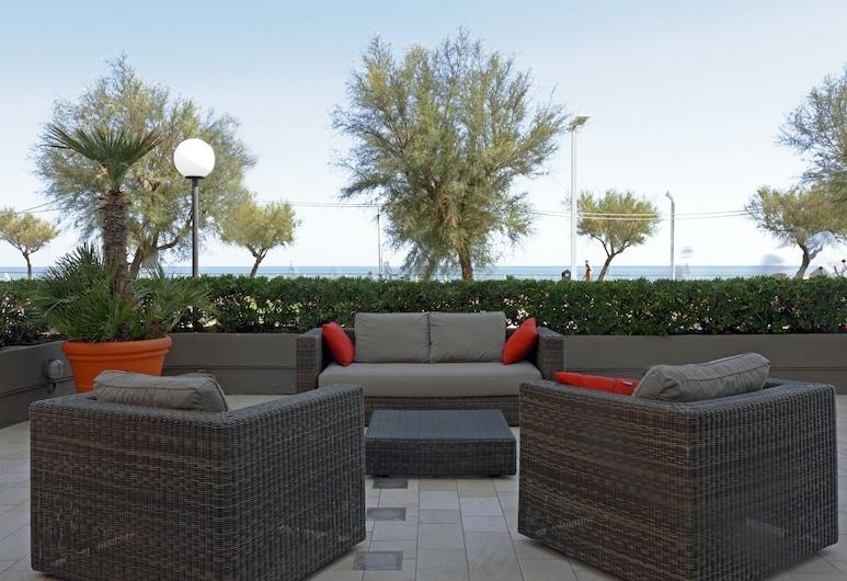Hotel Metropol, Pesaro, Terrace/Patio