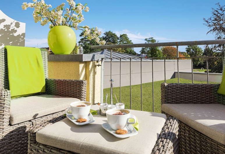 Ascari Parkhotel, Pulheim, Comfort Double Room, Balcony