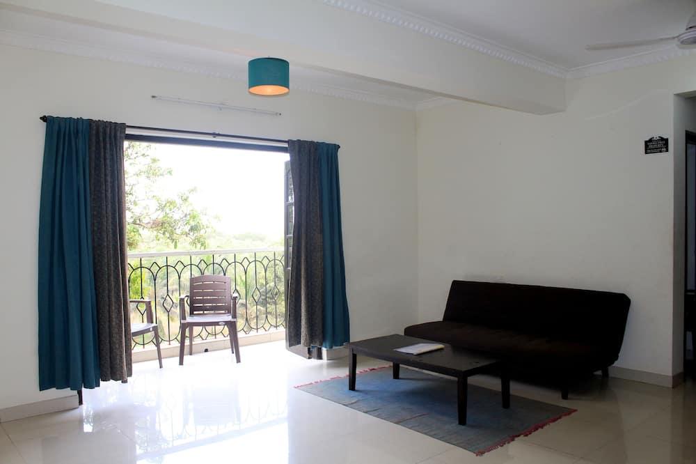 Klassiek appartement, 2 slaapkamers - Woonruimte