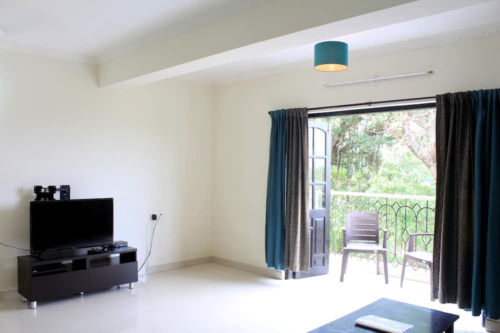 Klassiek appartement, 2 slaapkamers - Woonkamer