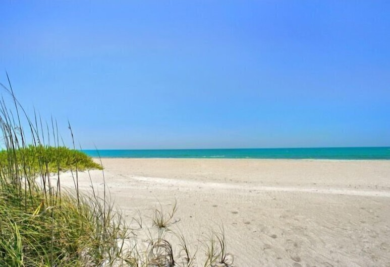 3706 Gulf Dr 2 Bedroom Home, Холмс-Бич, Коттедж, 2 спальни, Пляж