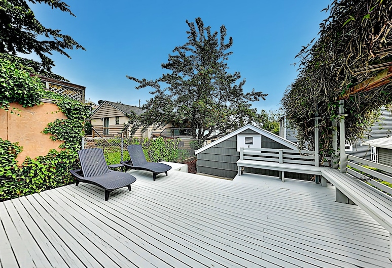 3br W/ Views, Patio & Fireplace 3 Bedroom Home, Seattle, House, 3 Bedrooms, Kawasan Hartanah