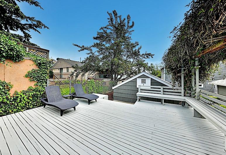 3 房之家酒店 - 附景觀/露台/壁爐, 西雅圖, 單棟房屋, 3 間臥室, 住宿範圍