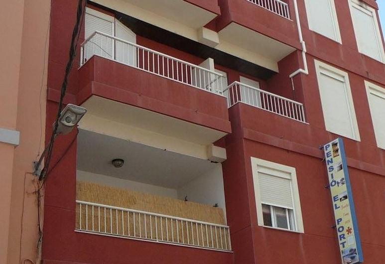 Pension Puerto, Silla, Fachada del hotel
