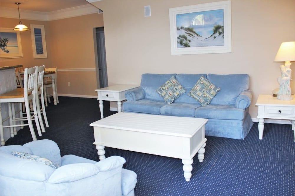 Huoneisto, Useita makuuhuoneita - Olohuone