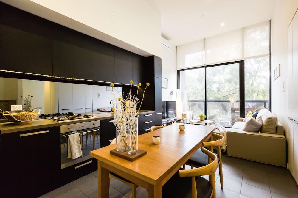 Premium appartement, 1 slaapkamer - Woonruimte