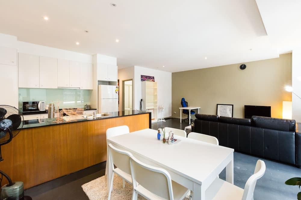 Appartamento Standard, 2 camere da letto, bagno privato - Pasti in camera