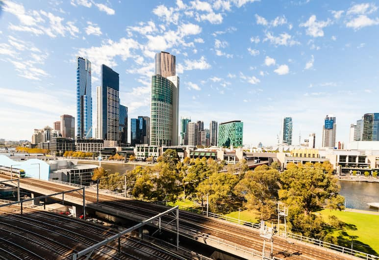 MILES, 1BDR Melbourne Apartment, Melbourne, City Apartment, 1 Bedroom, View from room