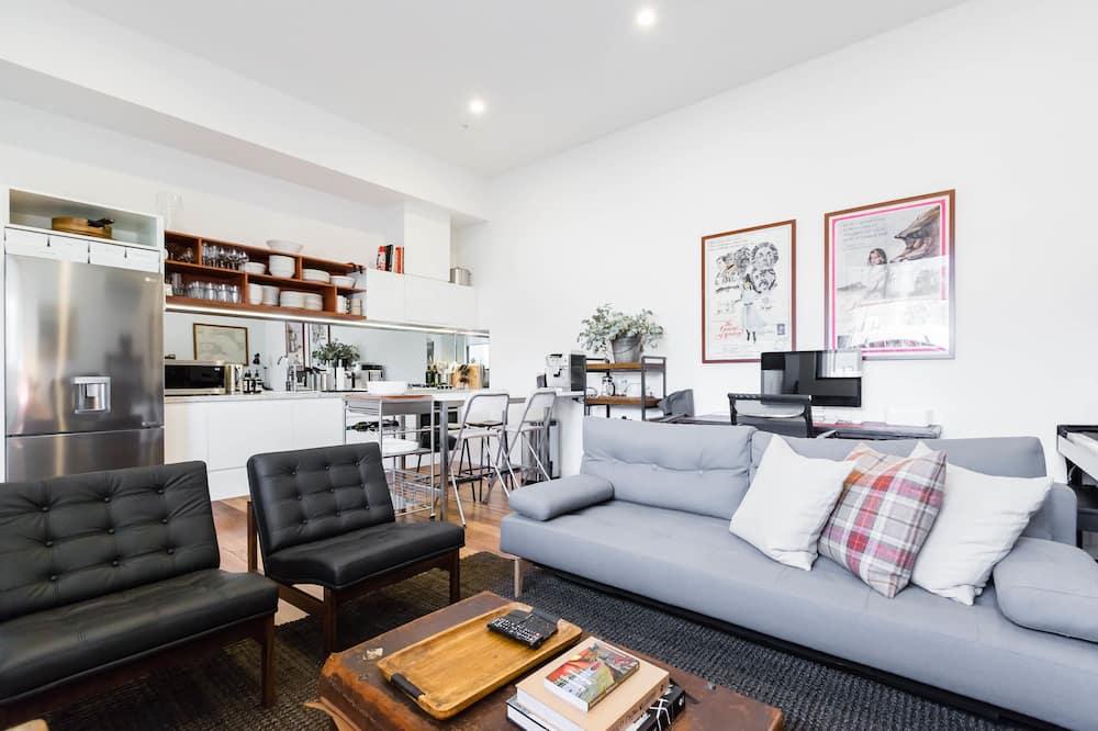 Appartamento Premium, 1 camera da letto, balcone - Soggiorno