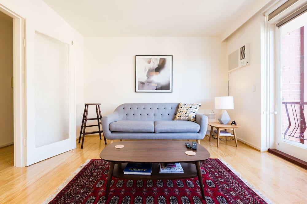 พรีเมียมอพาร์ทเมนท์, 2 ห้องนอน - ห้องนั่งเล่น