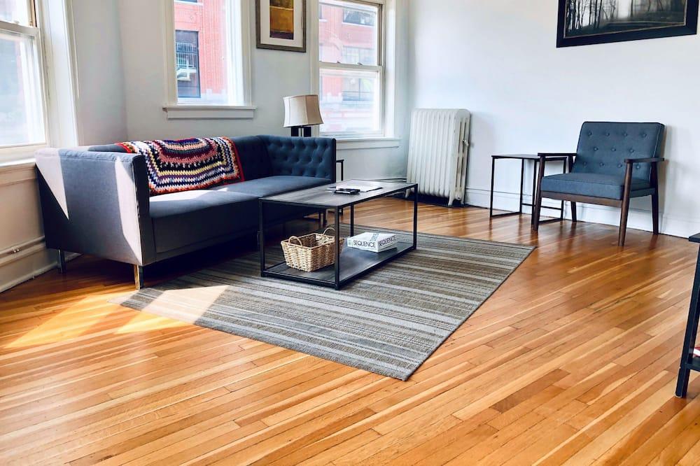 Apartman u centru, 1 spavaća soba - Dnevni boravak