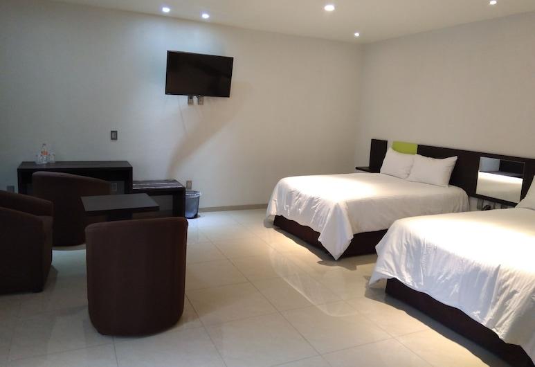 Hotel SanJo, San José Iturbide, Double Room, Bilik Tamu