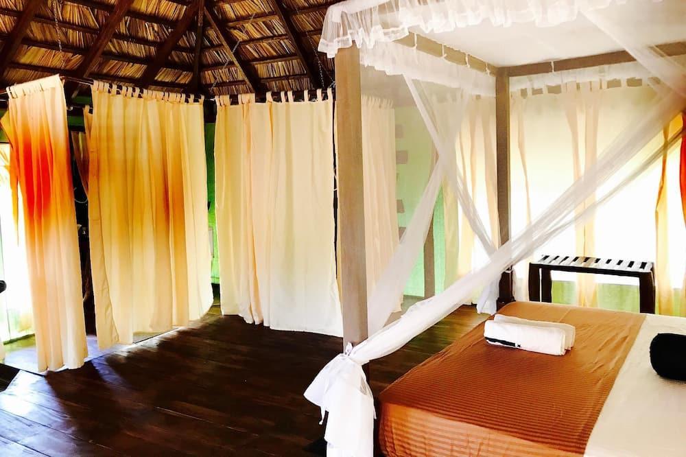 Basic-Zelt, 1King-Bett, Seeblick - Badezimmer
