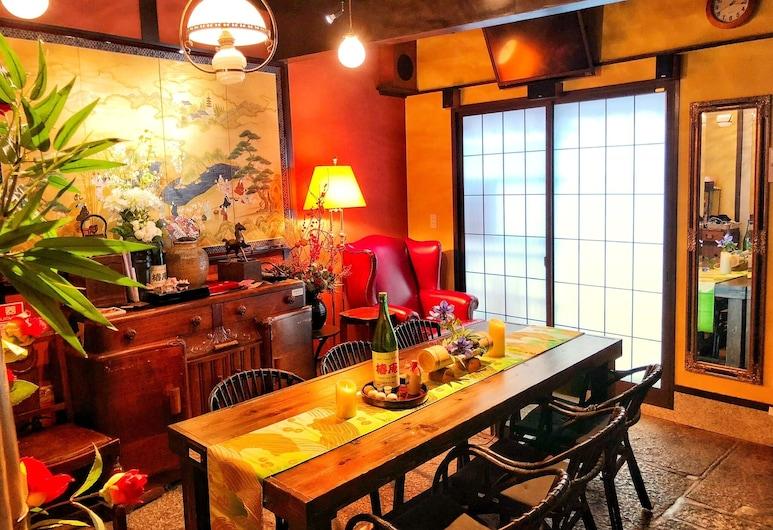 京町家 椿庵, 京都市, トラディショナル タウンホーム 4 ベッドルーム 禁煙 シティビュー, リビング エリア