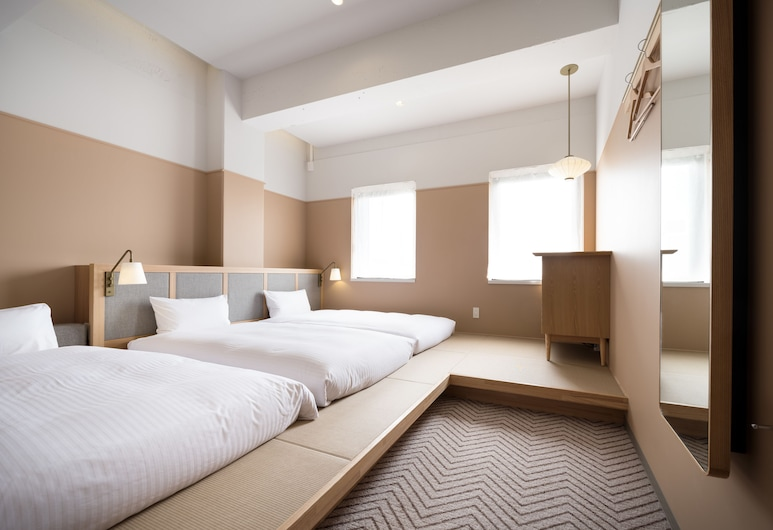 THE SHARE HOTELS RAKURO Kyoto, Kyoto, Standard Triple: Japanese-Western Room with Private External Bathroom, Non Smoking(Up to3, 23.64sqm), Guest Room