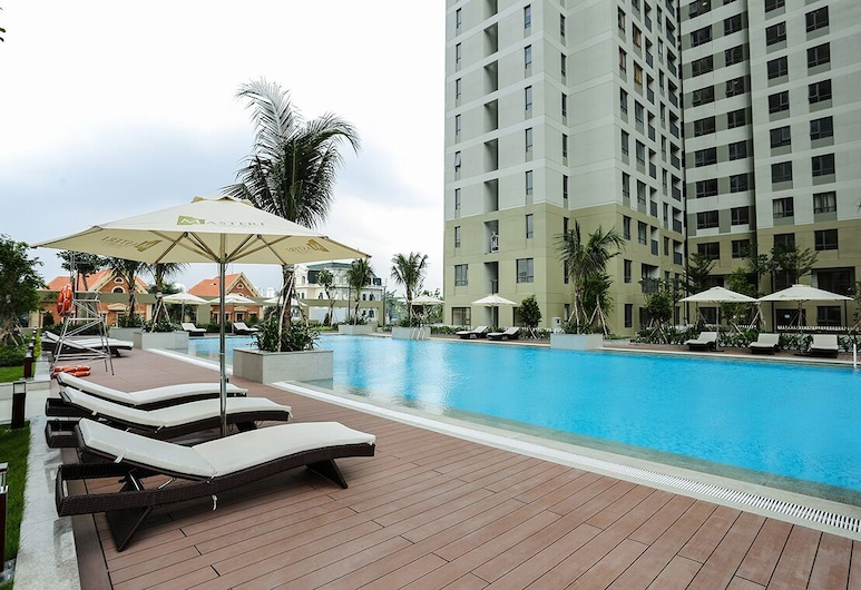 Lucyhome Masteri Thao Dien Apartment, Ho Chi Minh City, Outdoor Pool