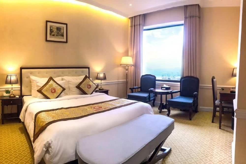 高級雙人房, 1 間臥室, 渡假村景觀, 臨近滑雪場 - 客廳