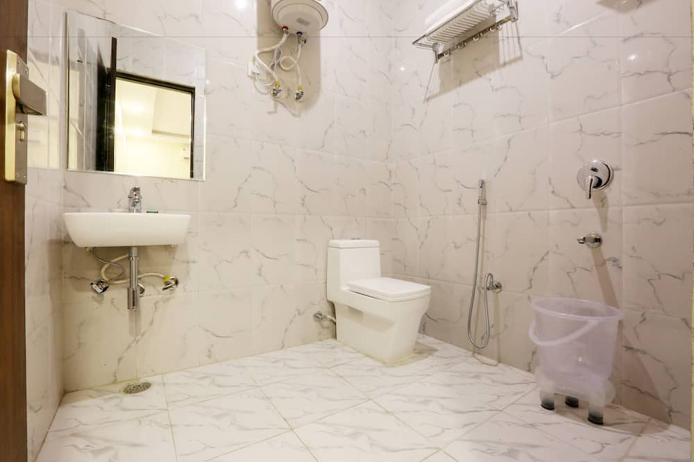 Deluxe-Doppelzimmer, 1 Doppelbett, barrierefrei, Nichtraucher - Badezimmer