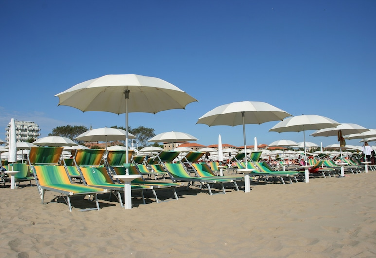 Hotel Clerice, Rímini, Playa
