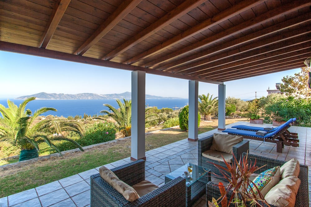 Villa Elite, 2 Quartos, Vista Mar, Jardim - Terraço/Pátio Interior