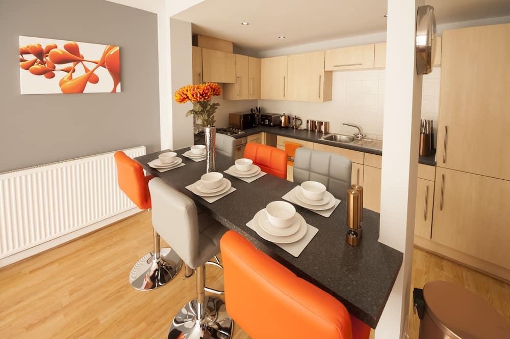 Апартаменти, 2 спальні - Обіди в номері