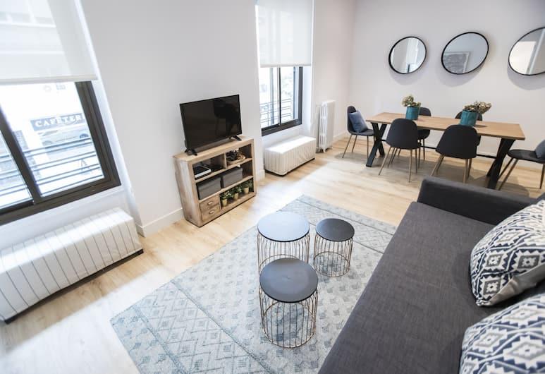 Alterhome Apartamento Moncloa Luxury, Madrid, Lägenhet - 3 sovrum - 2 badrum, Vardagsrum