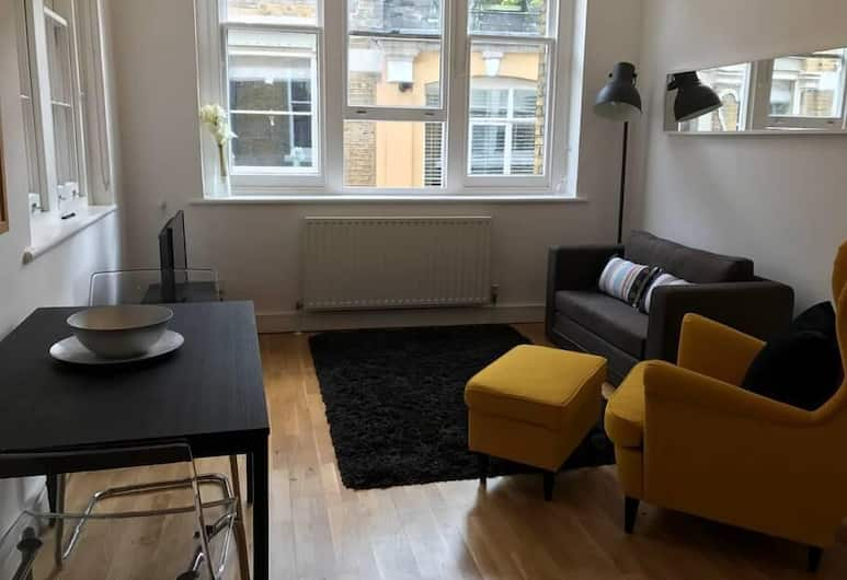 Super Cozy 1 Bed Flat - St Pauls Cathedral, London, Lounge