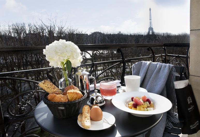 Le Damantin Hôtel & Spa, Παρίσι, Deluxe Δωμάτιο, Αίθριο/βεράντα