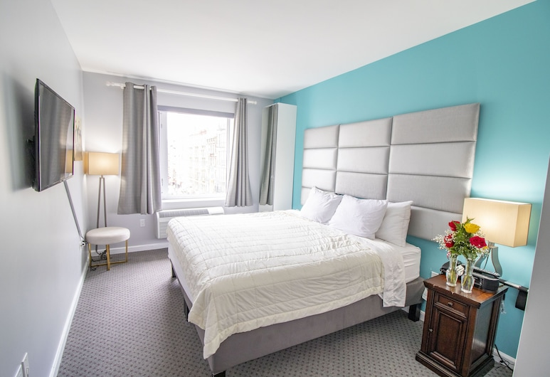 Canal Loft Hotel, New York, Standard Room 1 King Bed City View, Guest Room