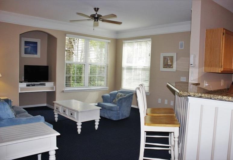 วิลล่า 2 ห้องนอนที่ รันอะเวย์ บีช (อาร์ดับเบิลยู 3203), คิสซิมมี, อพาร์ทเมนท์, หลายห้องนอน, ห้องนั่งเล่น