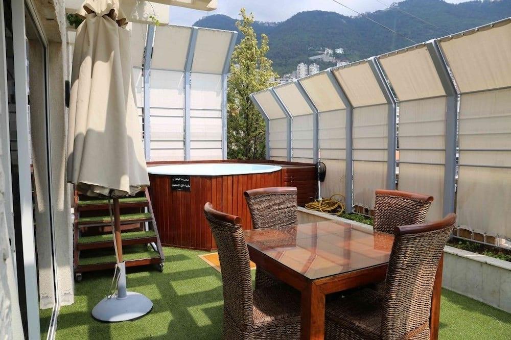 Suite Júnior, 1 cama king-size - Terraço/Pátio Interior