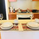 舒適公寓, 1 張加大雙人床和 1 張沙發床 - 客房餐飲服務