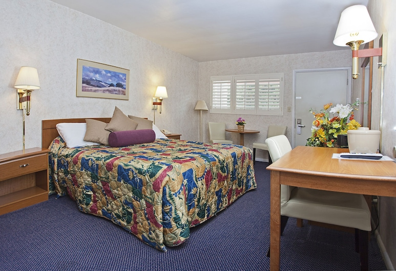 Townhouse Motel, San Francisco, Standard Double Room, 1 Bedroom, Guest Room