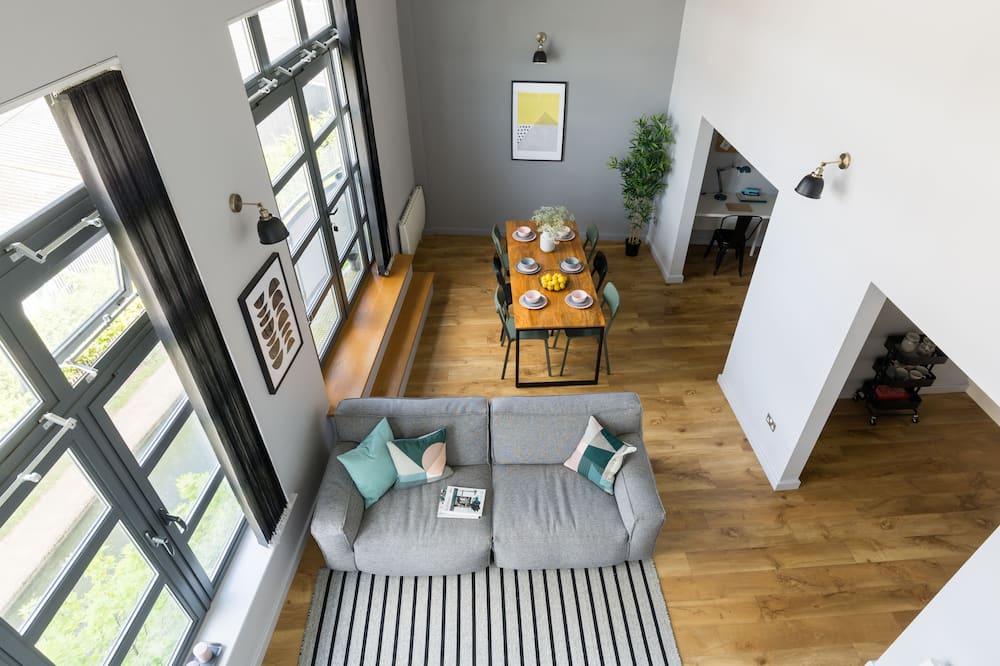 都會頂樓客房, 3 間臥室 - 客廳