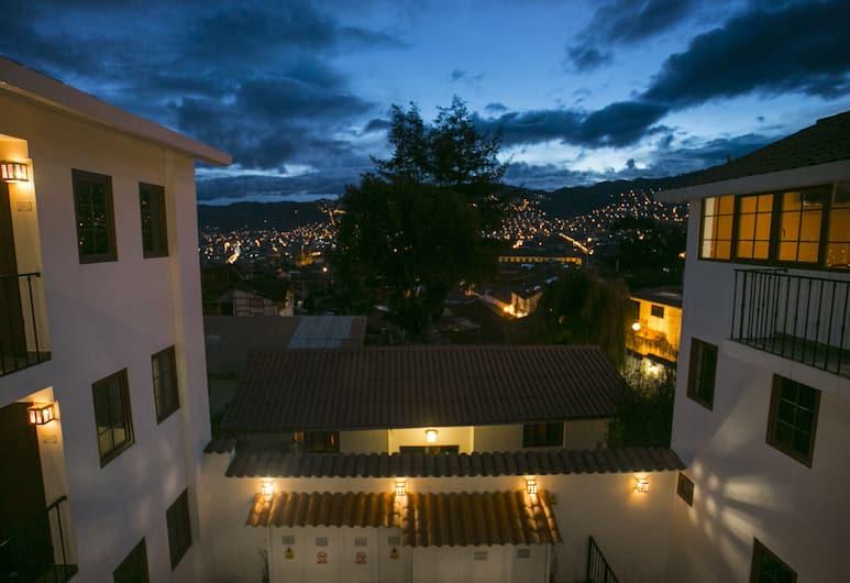 Atoq San Blas, Cuzco, Blick vom Hotel