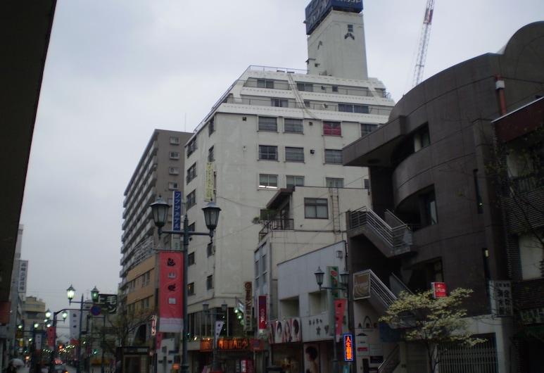 Takasaki Ekimae Plaza Hotel, Takasaki, Pohľad na hotel