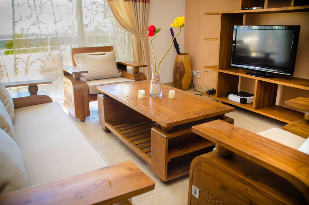 Apartment, 1 Bedroom, Terrace - 客廳