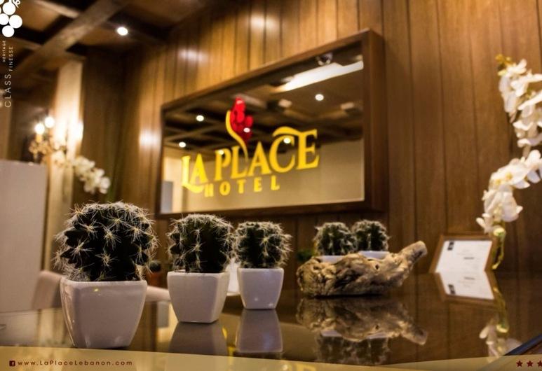 La PLace Hotel, Zahle, Frühstücksbereich