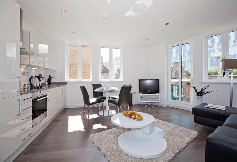 一白層酒店, 倫敦, 都會公寓, 2 間臥室, 2 間浴室, 客廳