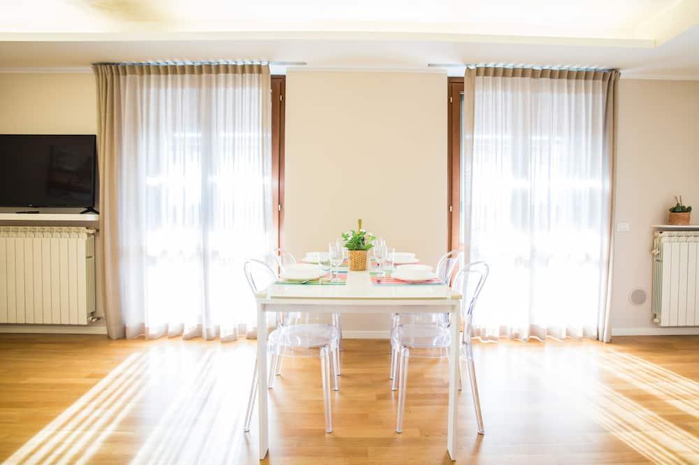 Appartement Premium, 2 chambres, vue jardin - Coin séjour