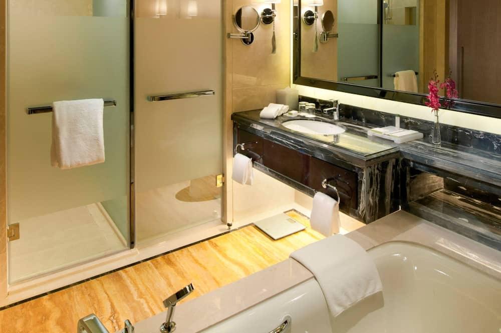 行政豪華雙床房 - 浴室