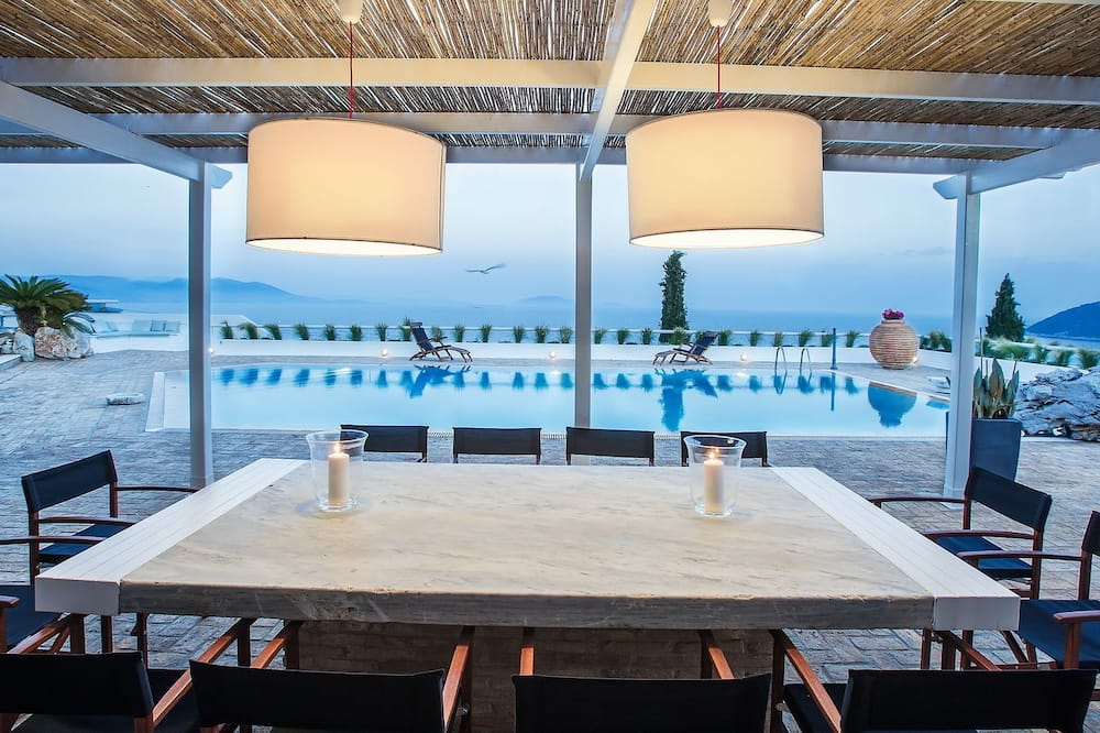 Luxury Villa, 4 Bedrooms, Private Pool, Sea View - Terrace/Patio